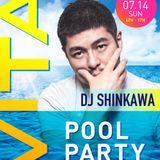 DJ SHINKAWA Live at VITA Pool Party  7/14/2019