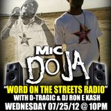 Word on the Streets Radio 91.9FM KCSB feat Fresh & Mic Doja