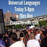 Universal Languages (#122)