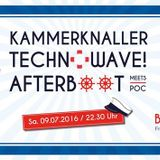 Tezz B2B Torsten Schawag - Livemitschnitt Technowave Afterparty 09.07.2016 @Kammer