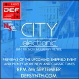 D.E.F. / Night Shift Radio 6th Sept 2017 - City Electronic previews & More