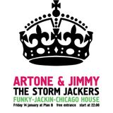 Artone, Jimmy & Zimone (The Storm Jackers) live at Club Plan B (14.01.2011)