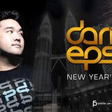 New Year 2017 at Jiro KL with Darin Epsilon and Alan Tand