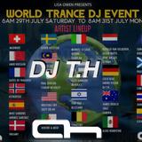 World Trance DJ Event 2017 DJ T.H