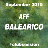 2015 SEPTEMBER - AFF BALEARICO Club Session
