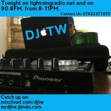 DJTW | 27.4.17 - Part B | LightningFM Radio Show
