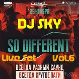 DJ TEMA SKY – SO DIFFERENT Part-6 Live set in Main bar (2016-11-25)