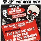 Jello Biafra's Dj set Kicksville Sat. April 18th