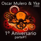 Dj's Oscar Mulero & Yke - Live @ 1º Aniversario The Omen, Madrid (1995) parte#1