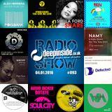 DEEPINSIDE RADIO SHOW 093 (Kathy Brown Artist of the week)