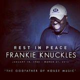 "CHRIS MORENO MY DEFENITION OF HOUSE MUSIC RIP MR ""FRANKIE KNUCKLES"" V414"