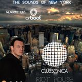 Holosounds - The Sounds of NYC Part 2 @Clubsonica Cali Colombia 05.14.2011 (Warm Up Orbeat DJ)