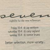 DJ Ronnie Bruno @seven  Summer 1998 (pt 1 of 2)