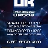 Underground ROOM : 16 - NOV - 2013 . Guest : SergioPardo