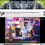 OGG, KonTa, Senor W and Selecta Fob Live on Reggae Fire Radio 04.11.2016