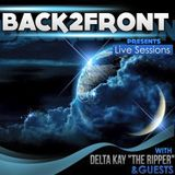 Back2Front Live Sessions Show #31 Guest Mix B'oohle [ DeepInIt]