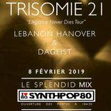 Le Splendid Mix - Trisomie 21, Lebanon Hanover & DaGeist (40 Min) By JL Marchal (www.synthpop80.com)