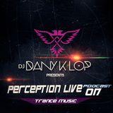 Perception live set 017 - Dany k lop ( Trance Music )