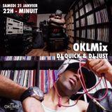Podcast : #OKLMix DJ Quick & DJ Just du 21/01