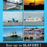 MônFM's coverage of the 2014 Anti-Slavery Day in Holyhead Port, Isle of Anglesey, North Wales.