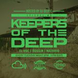 Keepers Of The Deep Ep 43 w/ EL VOC (Dresden), Bossin (NYC), & Antonio Nazario (Philly)
