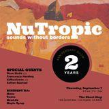 Aztlan Quetzal b2b kidbusiness (Late Night Laggers) live from NuTropic 2yr anniversary