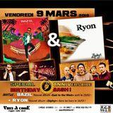 vAc reggae radioshow - BIRTHDAY BASH 5 piges !! Invités : Ryon + Bazil [9 mars 2017]
