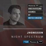 Jhonsson - Night Spectrum #004 (Underground Sounds Of UK)