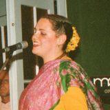 HG Gaurangi DD singing Guru Puja & Kirtan at Soho St (Jan 2005)