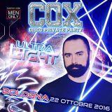 "Dj FAKE PLASTIC set COX Party ""Ultra Light"" 22 Ottobre 16 - Bologna"