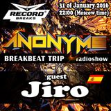 JIRO-GUEST MIX FOR ANONYMS @ RADIO RECORD,RUSSIA (31-01-2016)