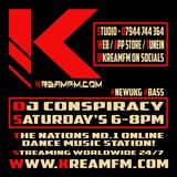 DJ Conspiracy #NewUKG - KreamFM.Com 19 OCT 2019