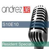 Andrez LIVE! S10E10 On 09.11.2016