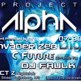DJ Faulk - Project Alpha @ Project Z Night Club (2016-07-30)