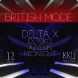Delta X - Special promo Mix for British Mode
