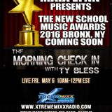 The Morning Check In with Ty Bless Special Guest Maia Lynn from 2016 INDY Awards  5-6-16.