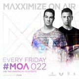 Blasterjaxx - Maxximize On Air 22 2014-10-31