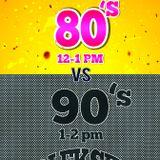 DJ EkSeL - Throw Back Thursday (80's Edition) Pt. 1