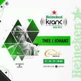 Thee J Johanz - DJ Set Krank Festival Chronicle Vagator GOA INDIA 30 - 12 - 2015