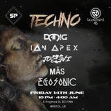 EGZ @ Basement 45 | Sunset UK Techno Party 14-06-19