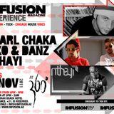 LIVE - Charl Chaka @ Infusion Magazine Experience - 360, Thu 24 Nov '11