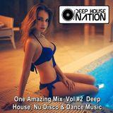 DeepHouseNation ♦ One Amazing Mix Vol #2 Deep House, Nu Disco & Dance Music ♦ Mix by DHN