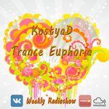 KostyaD - Trance Euphoria #143 Special Emotions [10.12.2016]