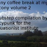 sunny coffeebreak at my balcony volume 2
