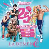 LA DEMENCE 25TH ANNIVERSARY - Mixed By Daniele D'Alessandro