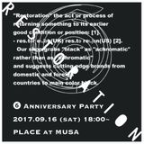RESTORATION 6th Anniversary MIX         MIXED BY DJ MR.SYN