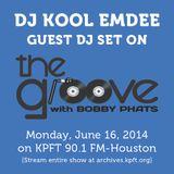 DJ Kool Emdee [Guest DJ Set on The Groove, KPFT 90.1 FM-Houston on June 16th]