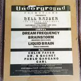 Pablo Gargano - MC GQ @ Hellraiser 4 - Ulster Hall (The Legend Continues) 27-2-1993