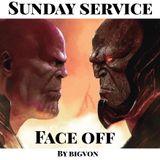 "Sunday Service "" FACE OFF "" THANOS Vs DARKSEID"