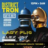 LADY FLiC at DISTRICT TRON